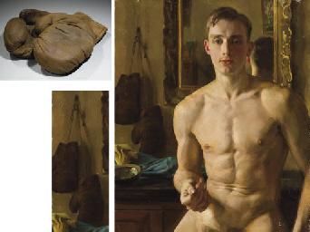 Konstantin Andreevich Somov 1869 1939 The Boxer