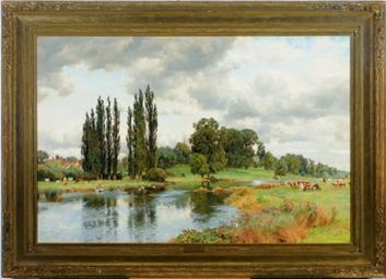 Alfred William Parsons British 1847 1929 A Summer