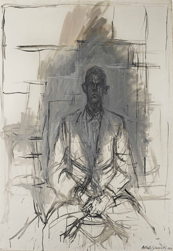 Image result for giacometti portrait james lord