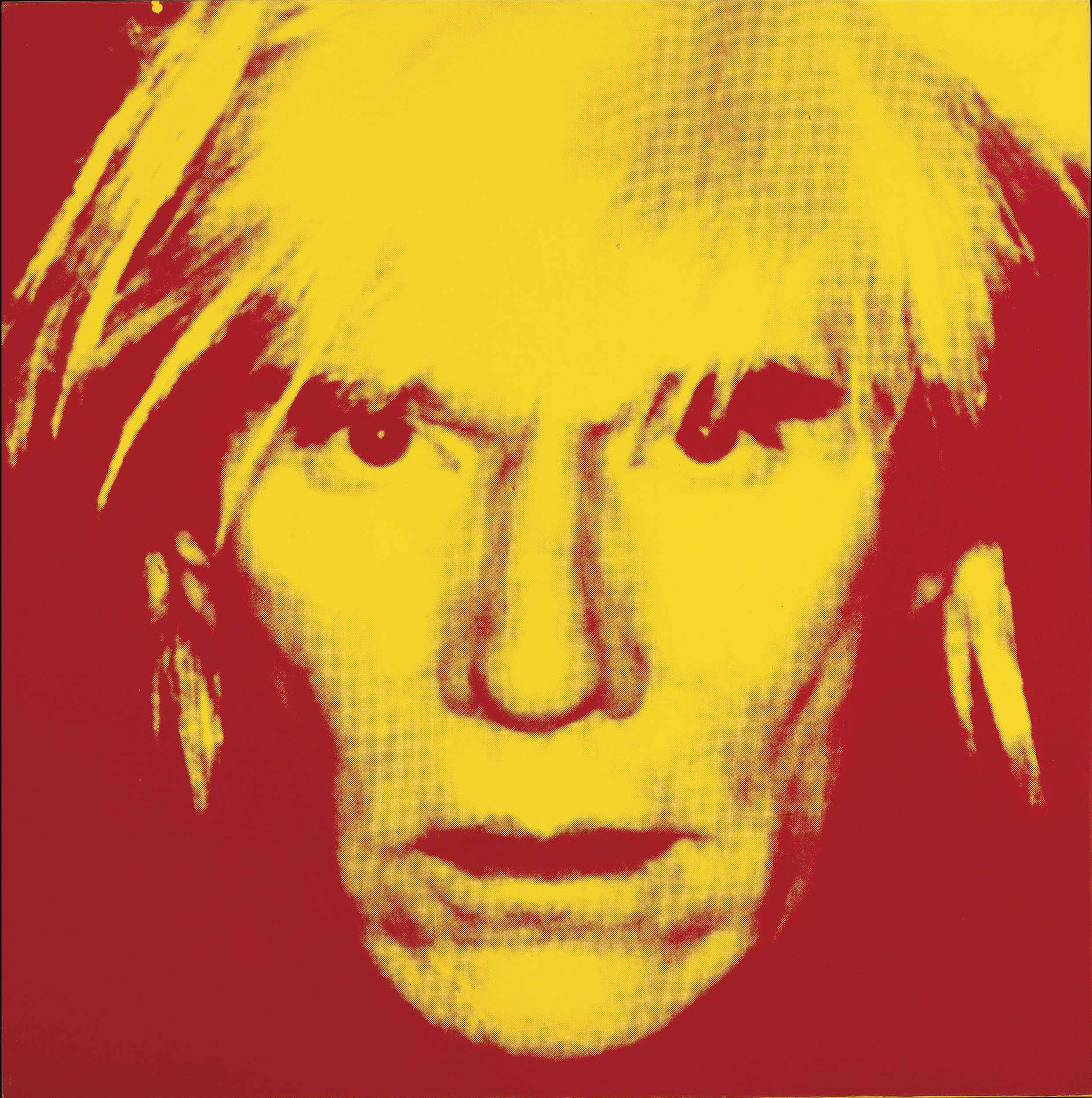 Andy Warhol 1928 1987 Self Portrait Fright Wig 1980s Paintings Christie S
