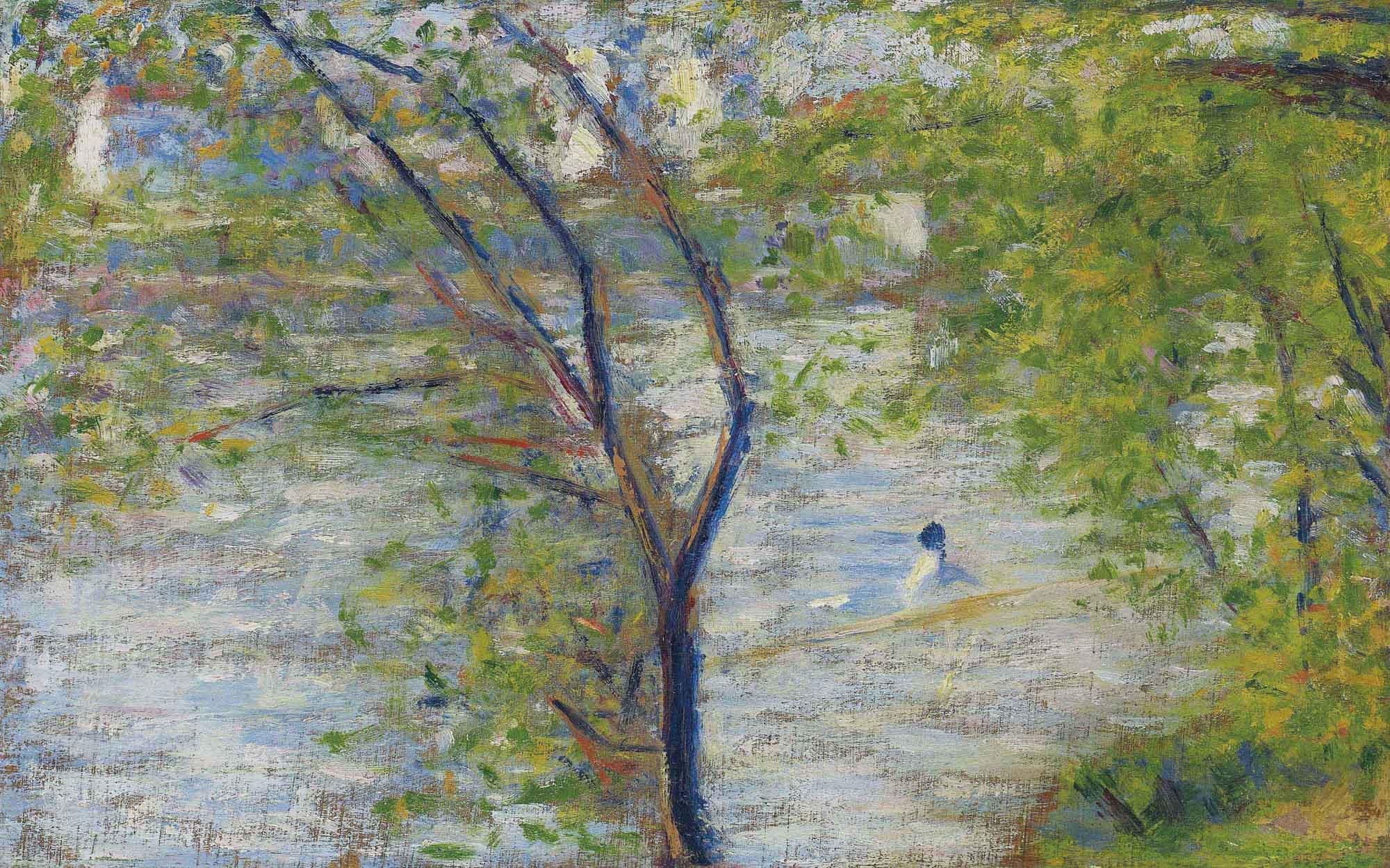 Georges Seurat Une Perissoire