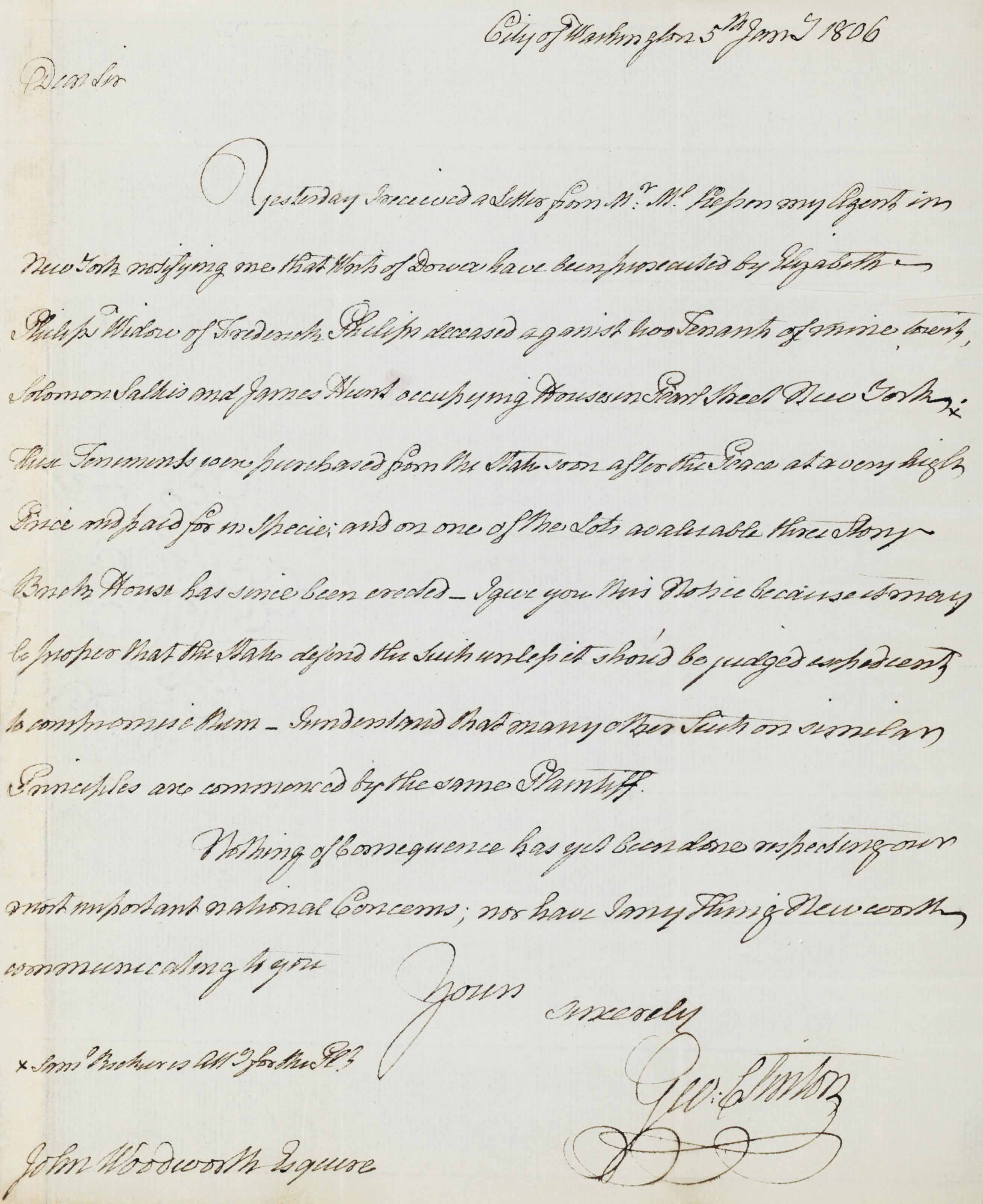 Early American Republic A Collection Of 101 Letters And