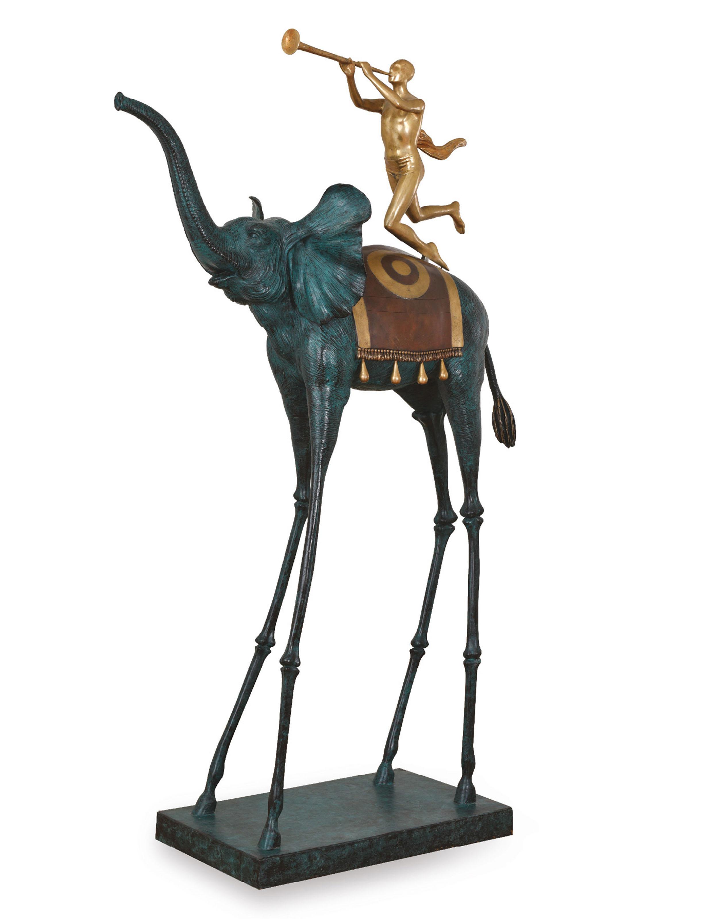 Salvador Dali Spanish Elephant Du Triomphe
