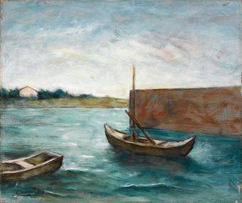 Carlo Carrà (1881-1966) Marina