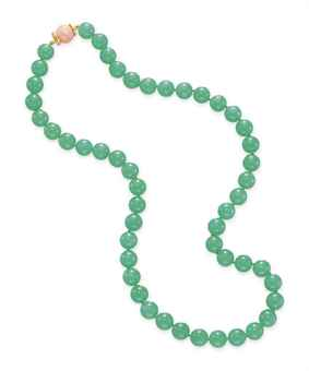 Source Information Christie's - Chrysoprase Necklace