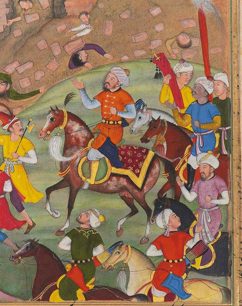 Prior to fighting and defeating an army under Sultan Nasir-ud-din Mahmud  Tughluq on December 17, 1398, Timur had his forces butcher in cold blood  one ...