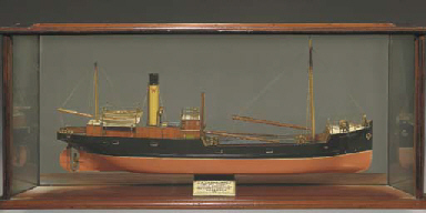 A Mirrored Back Builder S Half Model Of The Coastal