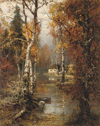 A woodland cottage