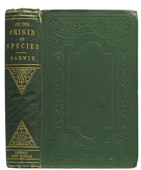 DARWIN, Charles (1809-1882). On the Origin of Species by Means of Natural Selection. London: W. Clowes and Sons for John Murray, 1859.