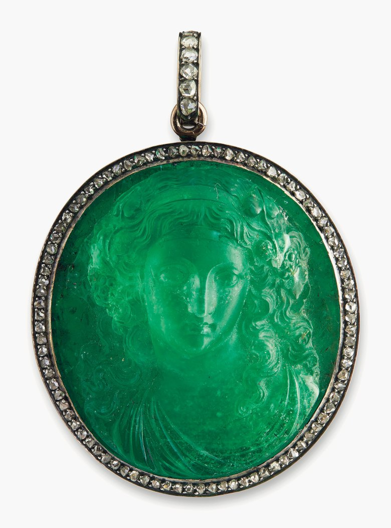 5 Minutes With An Emerald Cameo Christies