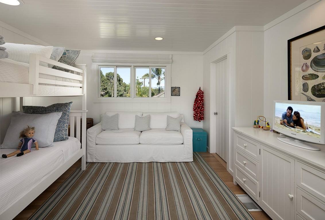Enjoy your own private tropical retreat on the world famous Padaro Beach. There are three bedrooms, including the master suite with ocean views and private patio, and three and one half baths, as well as a family room, laundry room.