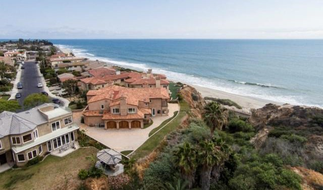 5 Bedrooms, 5,562 sq. ft.This magnificent custom-built residence in the gated Cyprus Cove community includes five bedrooms, six baths, and a three-car garage. Located in a quiet cul-de-sac, this oceanfront home enjoys spectacular white-water views and sunsets.