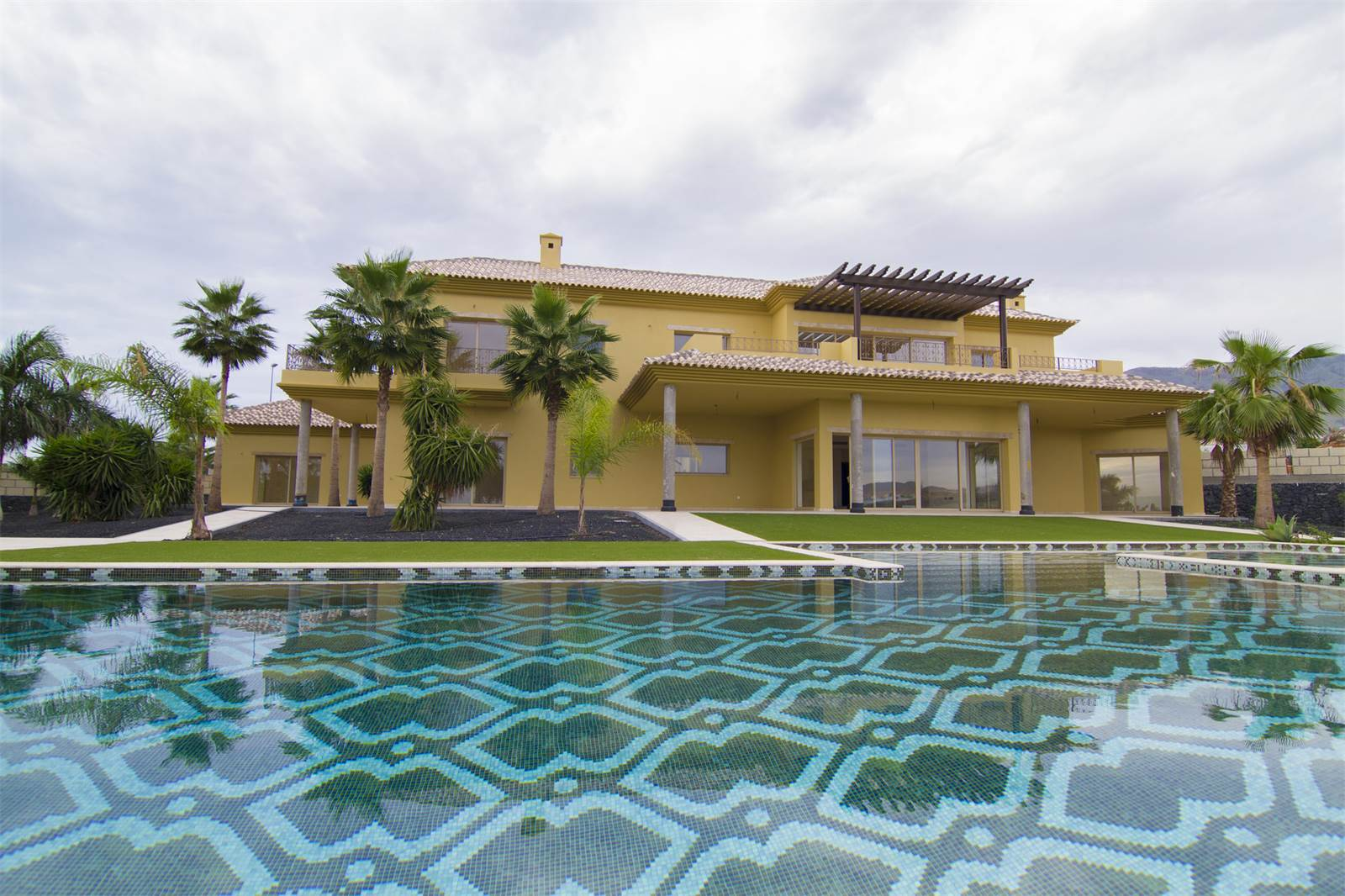 7 Bedrooms, 7,373 sq. ft.Costa Adeje Golf course property with beautiful gardens