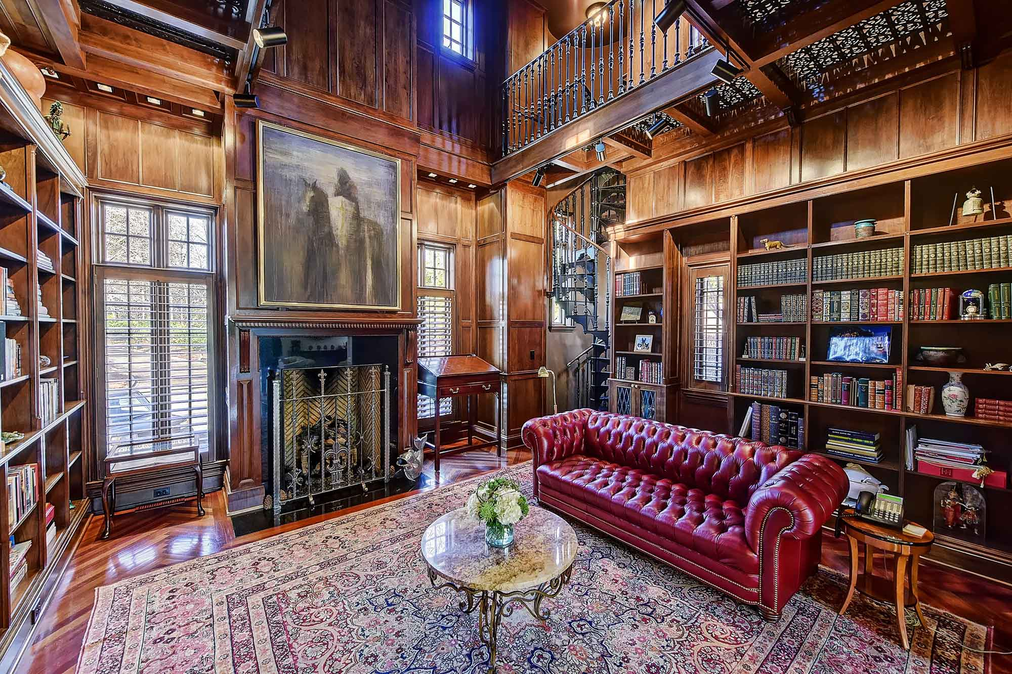 9 Homes With Spectacular Private Libraries Christie S