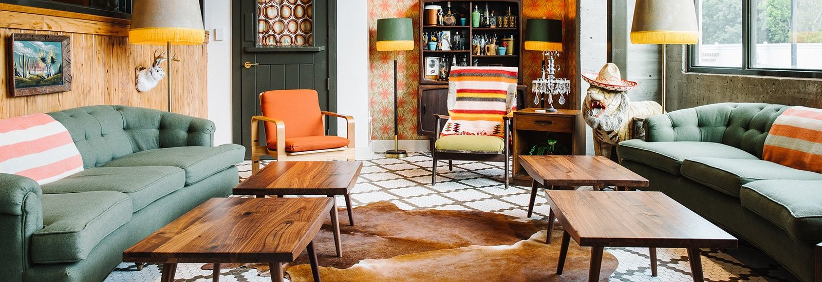 Modern-Vintage Interiors Inspiration From Elizabeth Ingram ...