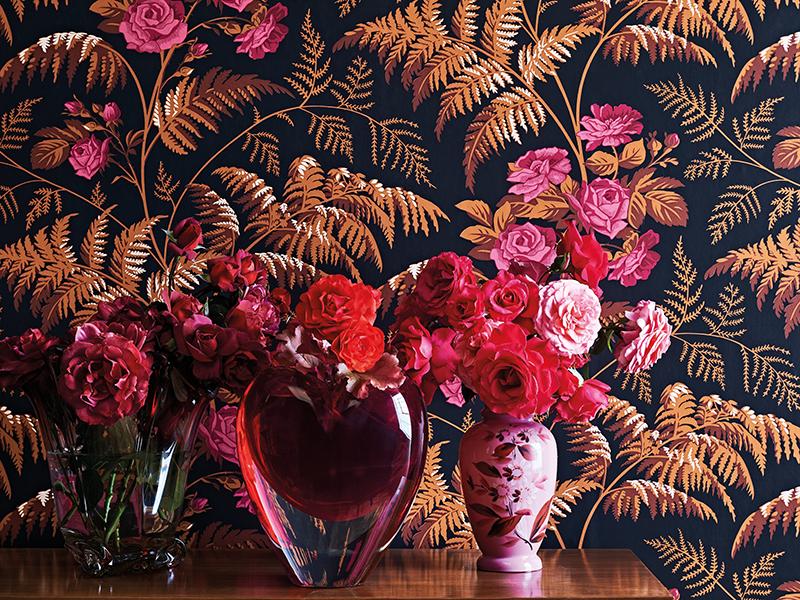 Cole & Son botanical wallpaper