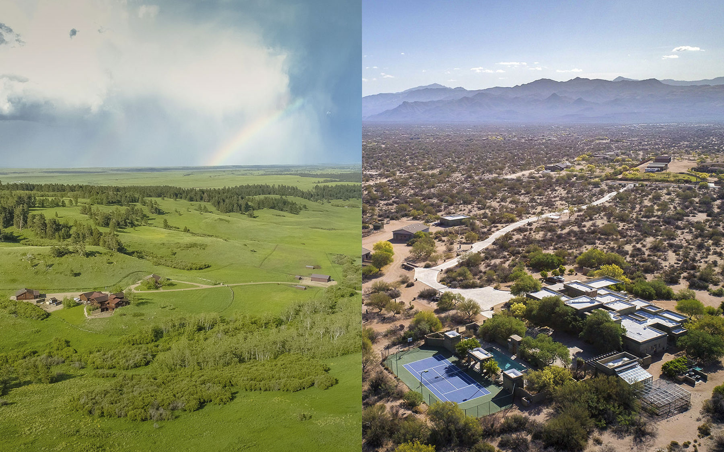 Arizona e Montana
