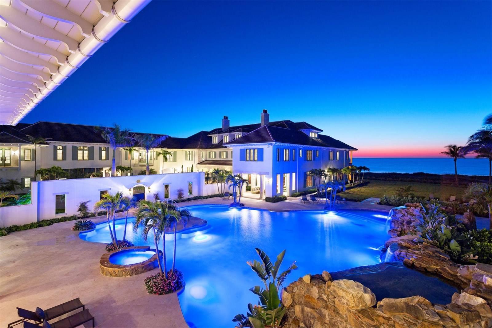 Oceanfront Estate in Vero Beach, Florida