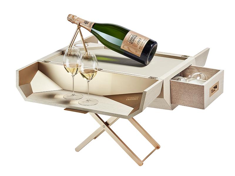 Jérobo-Gem tasting table