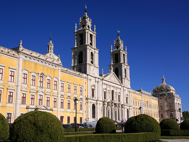 Mafra Convent. UNESCO World Heritage Site.