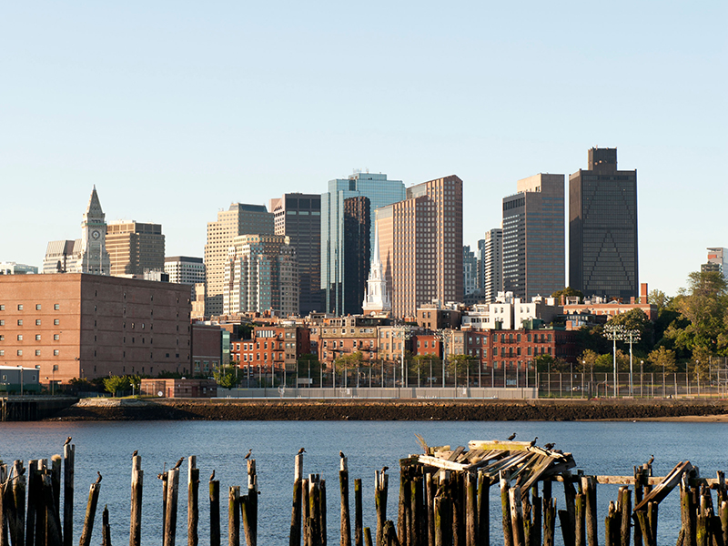 A view of Boston's skyline