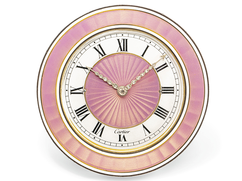 An art deco mystery clock