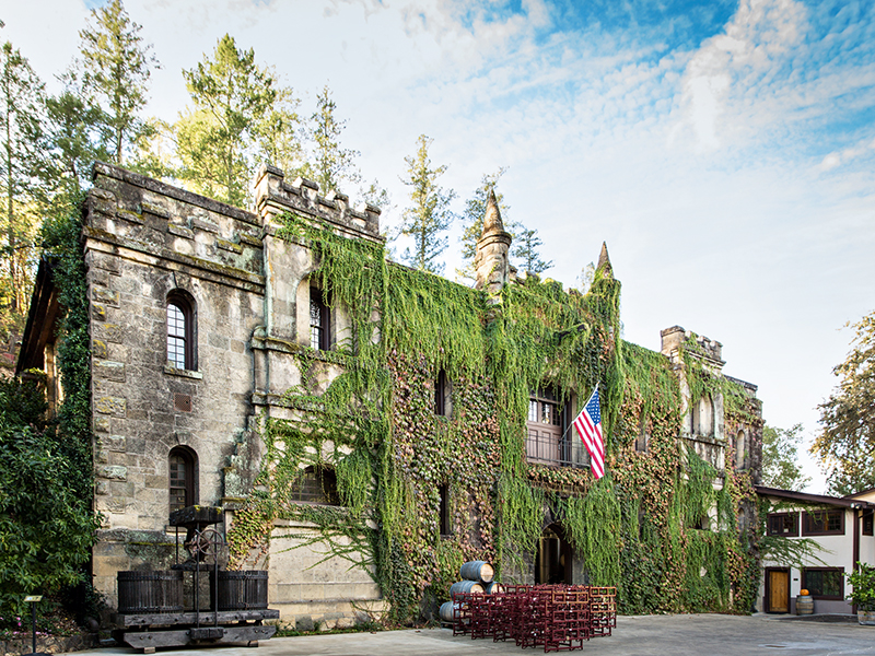 Chateau Montelena in Napa, California