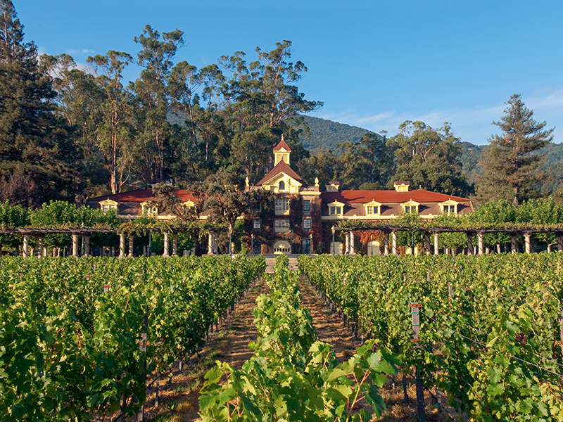 Inglenook Winery in Napa, California