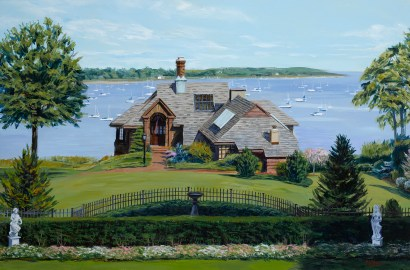 Bespoke House Portraits—Home Is Where the Art Is