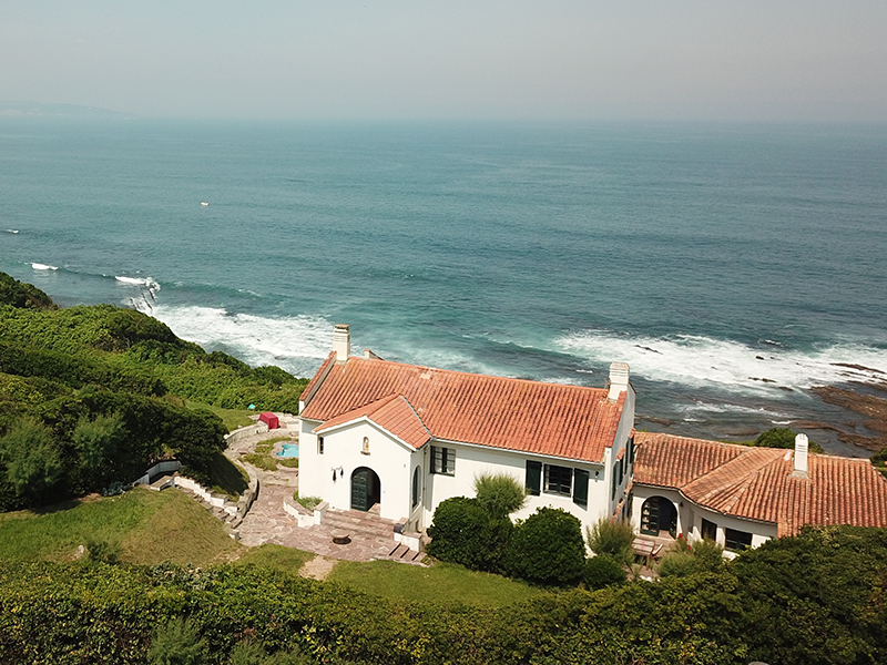 A property in the South of France, near to Saint Jean de Luz, overlooking the ocean