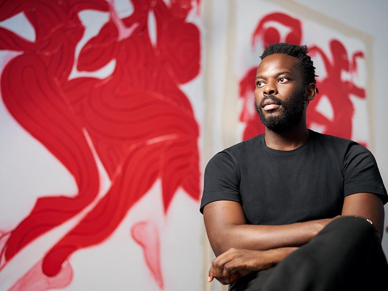 Artist Tunji Adeniyi-Jones