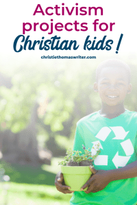 There are a few famous child activists, but the truth is that any child who gets angry about injustice is already an activist. Help them get started with these youth activism projects or child activism project ideas? Here's a great list of youth activism ideas. #Christianparenting #savetheplanet