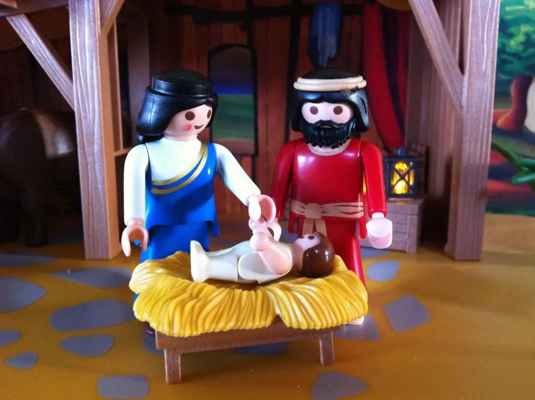 playmobil Christmas card