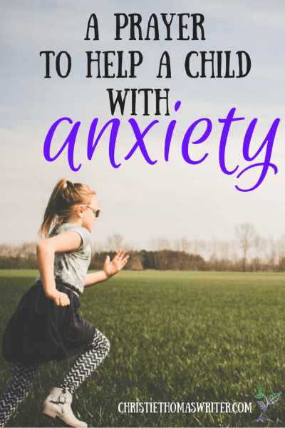 How to bring your child's worries to God