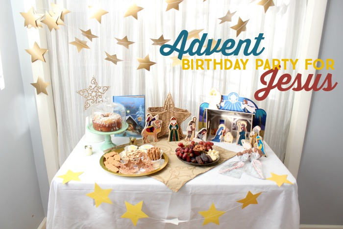 Activities, snacks and crafts for a birthday party for Jesus
