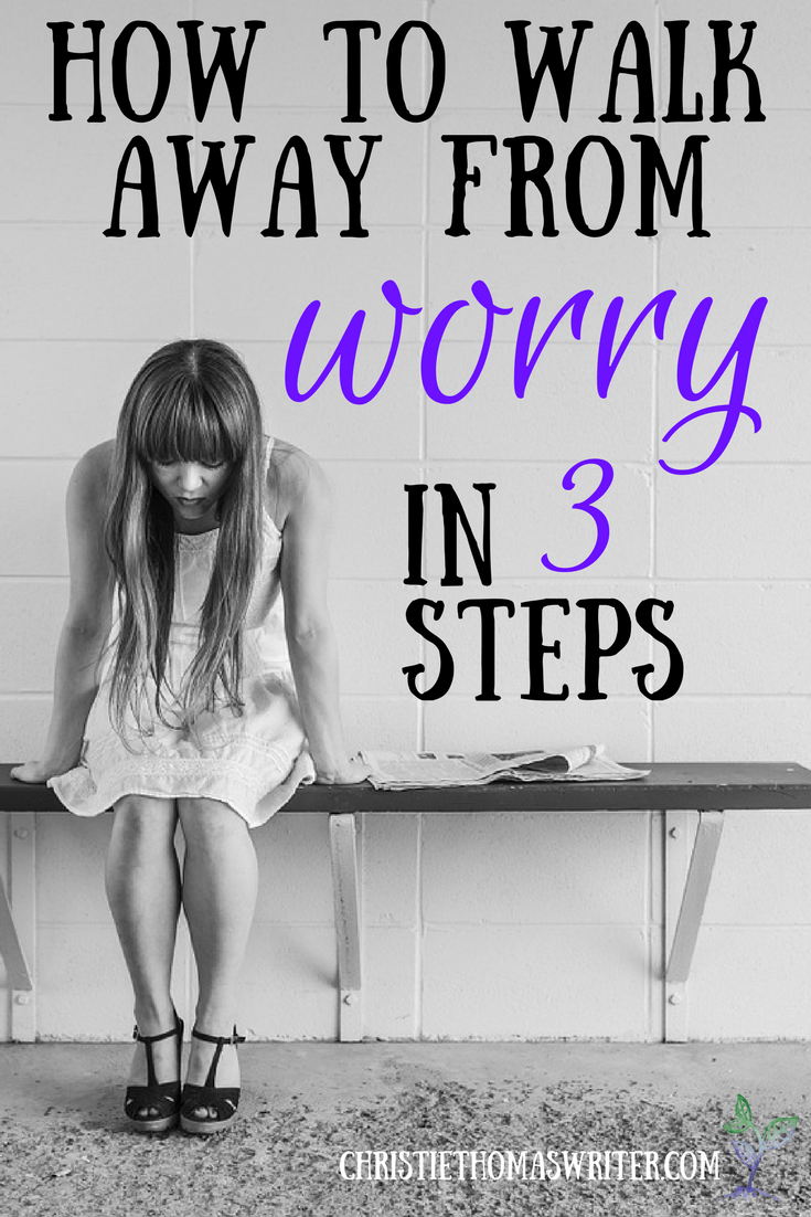 A Bible devotion on Jesus' words about worry.