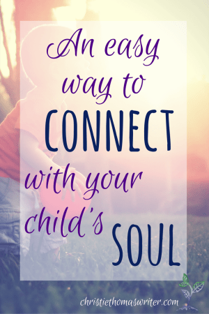 One great idea and a brand new resource to help Christian moms.