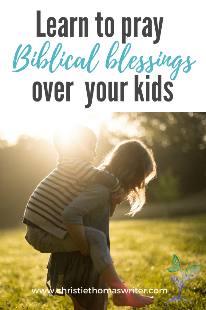 3 crucial keys to praying Biblical blessings over your child, and a free email series to help you get started! #parenting #Christianfaith