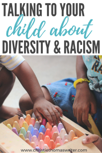 Simple ways to teach your child about racism #diversity #christianparent #kids #familyfaith