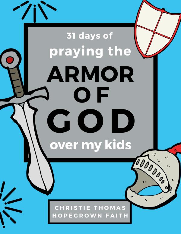 Armor of God prayer journal