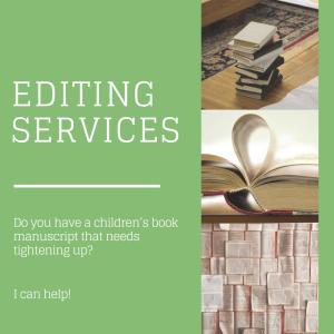 Children's book editing services