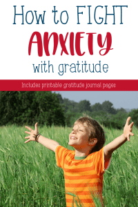 Why gratitude works to fight anxiety | Gratitude activities for kids to help focus on the good things in life instead of their worries. #mentalhealth #depression #anxiety #meditation #guidedmeditation #happiness #grateful #gratitude