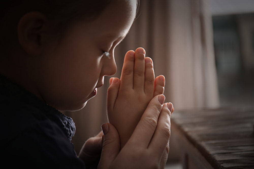 8 Prayers to Help a Child With Anxiety | Christie Thomas