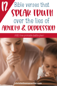 verses for anxiety and depression