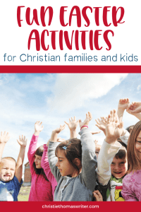 Easy and fun Christian Easter activities for kids and families to do. Use these Easter crafts, snacks, books, and object lessons in your children's ministry or in your home. They are all based on the Easter story in the Bible, emphasizing the atonement and Jesus' resurrection. #Christianparenting #familydiscipleship #Easter
