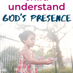 """Introducing Quinn's Promise Rock, a Christian children's picture book to help your toddler or preschooler with anxiety, useful for teachers or families. Similar in style to """"The Kissing Hand"""", but faith-based. But not just for anxious kids! Also teaches kids about God's presence. #anxiety #Christianparenting"""