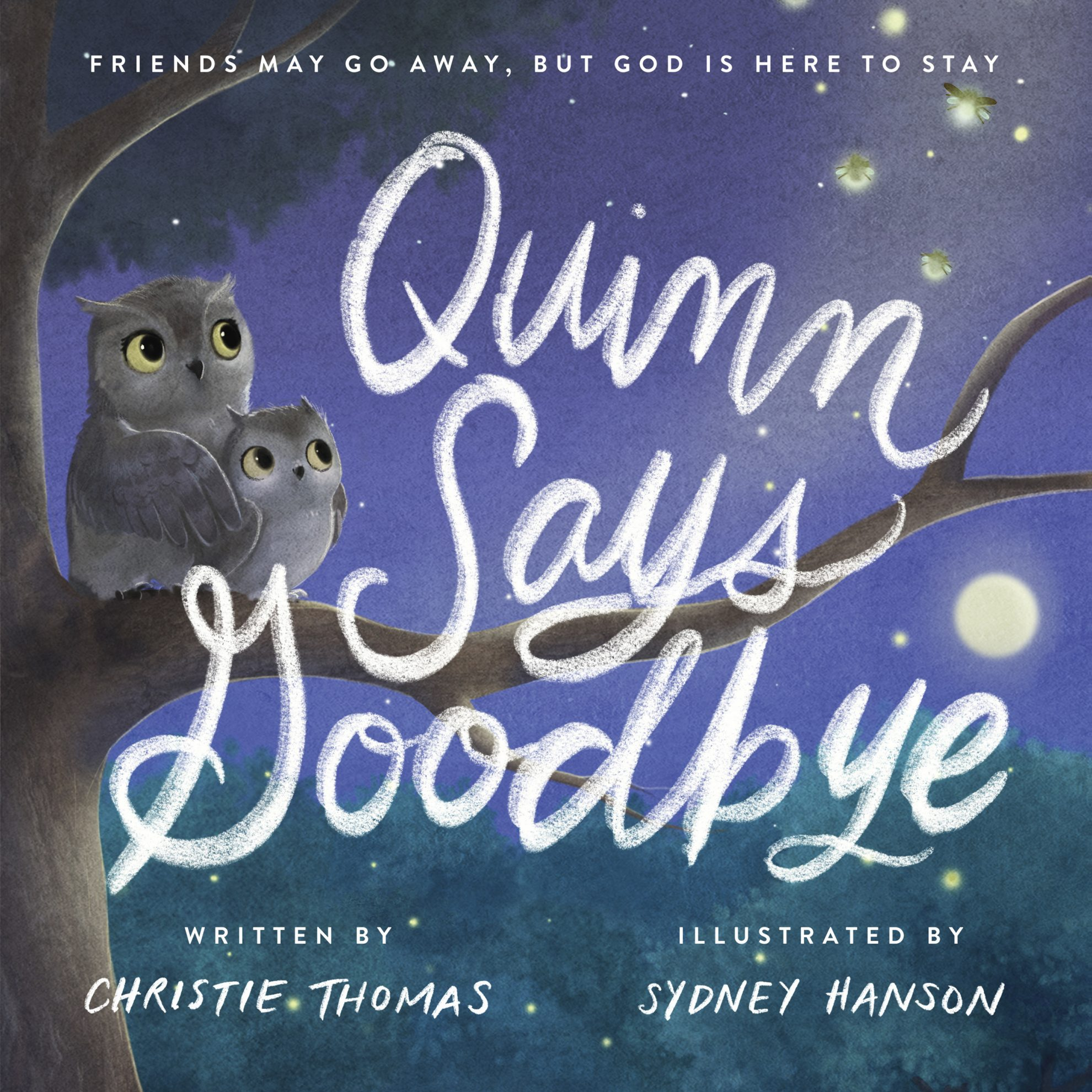 Quinn says goodbye: front cover