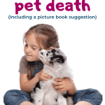 When your pet dies, learn how to help a child deal with pet death | How to help a child grieve a pet. | Pet loss memorial ideas | Christian picture book about grief and loss | Quinn Says Goodbye by Christie Thomas #kidlit #Christianparenting #grief