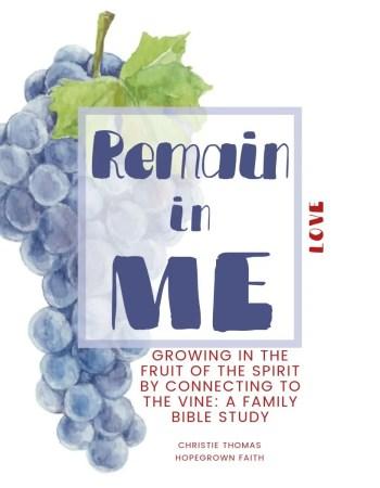 Fruit of the Spirit for kids - family Bible study