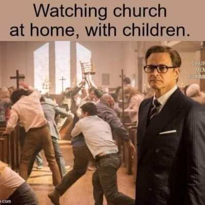 online church with kids